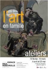 Samedi 04 Avril 2020 - Art en famille -  Eymoutiers (87)