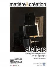 Lundi 01 nov. 2021 - Matière & création - ateliers d