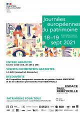 Samedi 18 sept. 2021 - Journées du Patrimoine (gratuit) -  Eymoutiers (87)