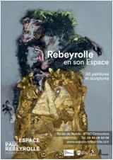 Mardi 01 déc. 2020 - Rebeyrolle, 50 peintures et sculptures -  Eymoutiers (87)