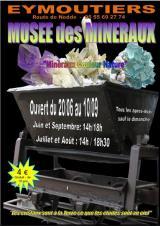 Samedi 24 juil. 2021 - Musée des Minéraux -  Eymoutiers (87)