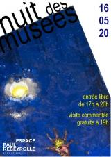 Samedi 16 Mai 2020 - La Nuit des Musées -  Eymoutiers (87)