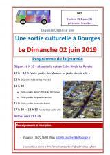 Dimanche 02 Juin 2019 - Une journée à Bourges -  Saint-Yrieix-la-Perche (87)
